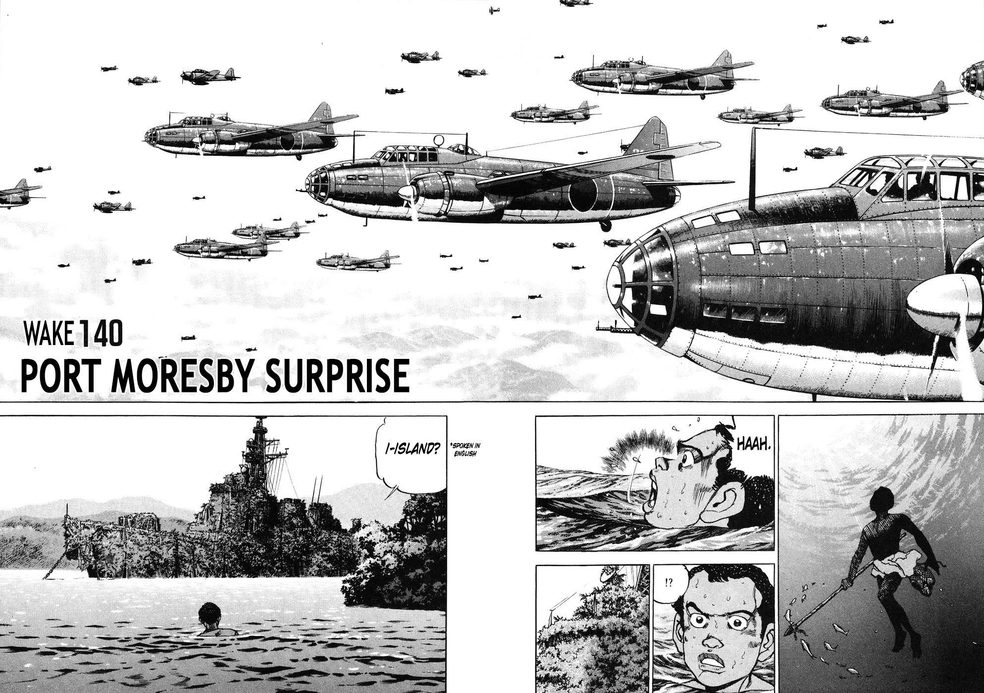 Zipang Chapter 140: Port Moresby Surprise page 1 - Mangakakalots.com