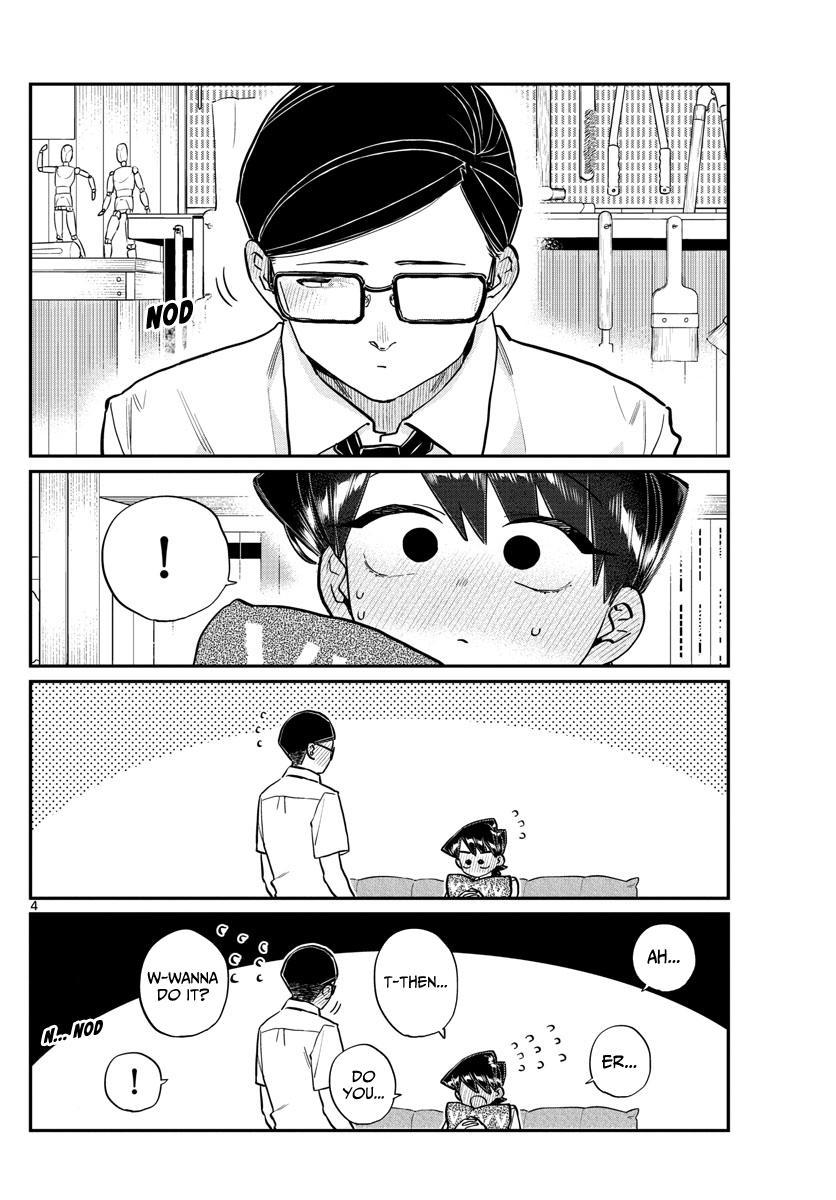 Komi-San Wa Komyushou Desu Chapter 218: Mom And Dad's Kiss page 4 - Mangakakalot