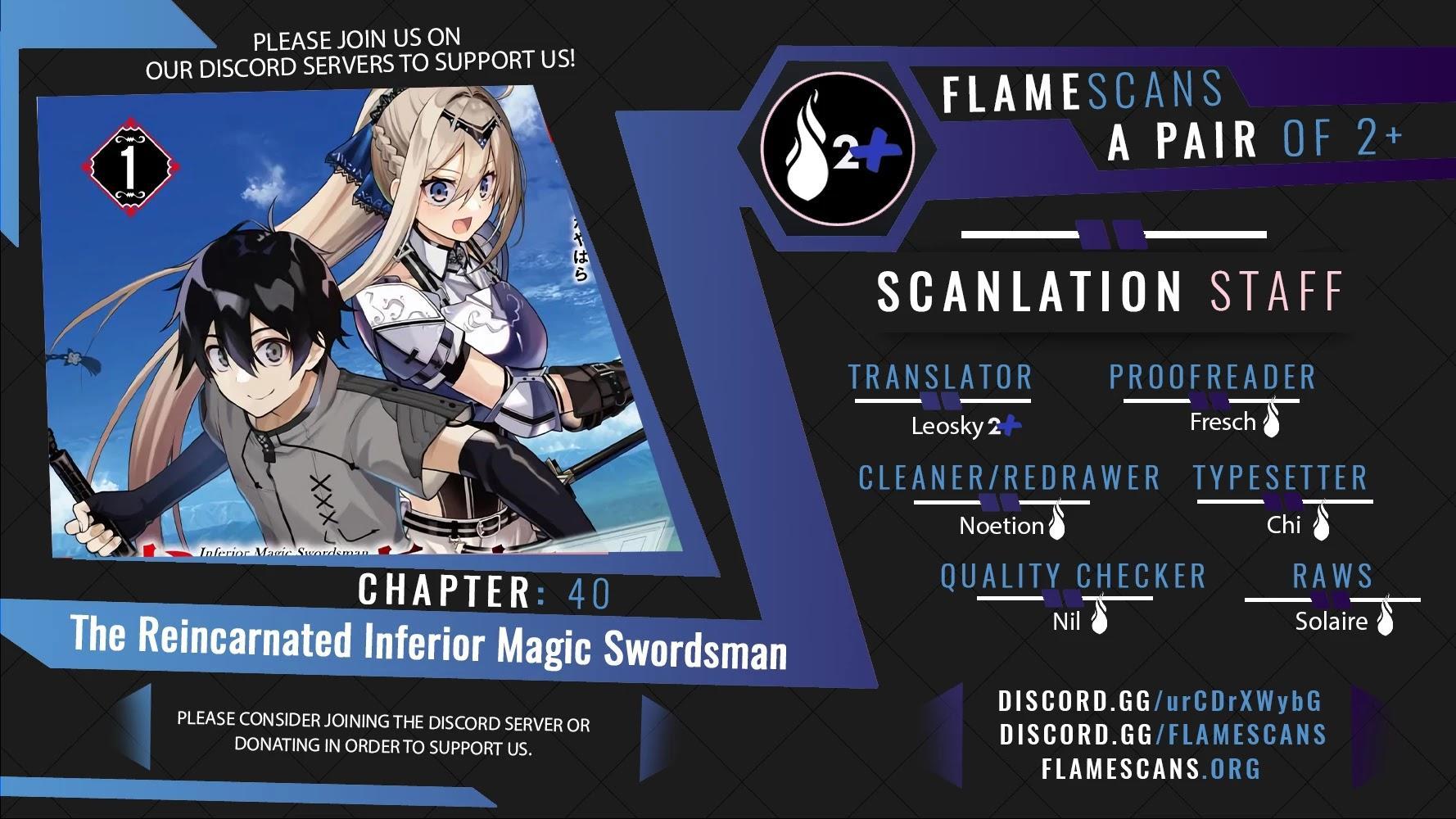 The Reincarnated Inferior Magic Swordsman Chapter 40 page 1 - Mangakakalots.com