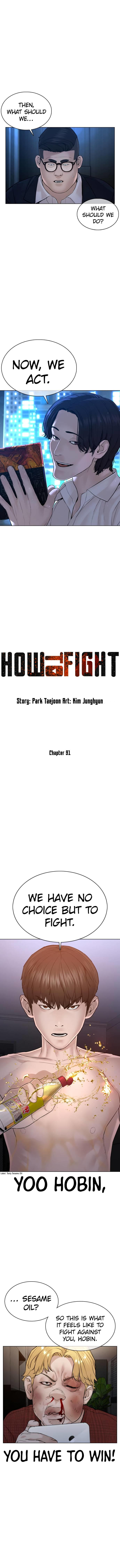How To Fight Chapter 91 page 2 - Mangakakalots.com