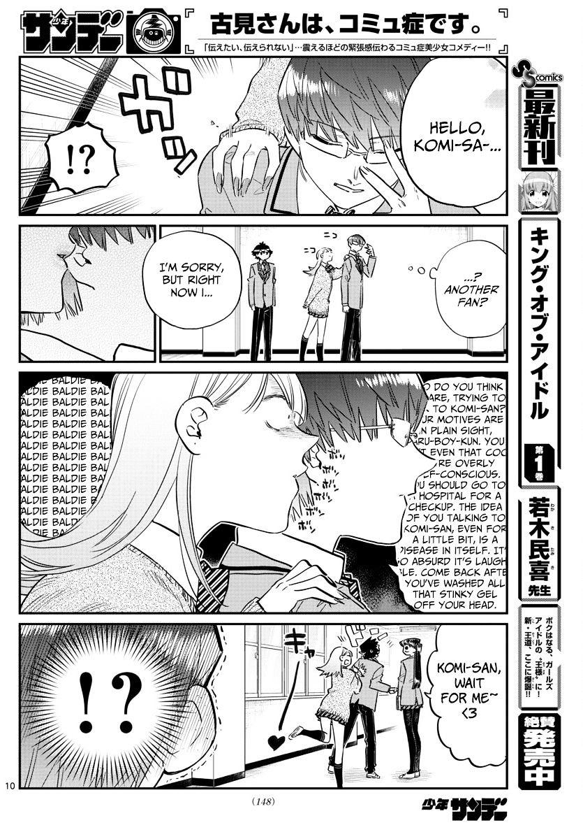 Komi-San Wa Komyushou Desu Vol.8 Chapter 102 : A Narcissist page 10 - Mangakakalot