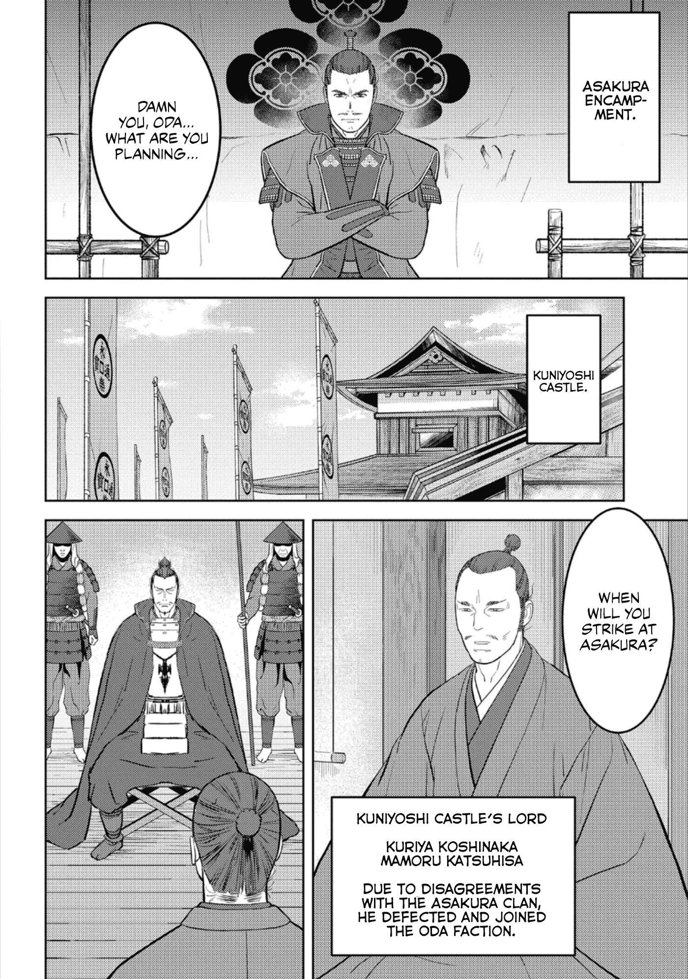 Sengoku Komachi Kurou Tan! Chapter 42 page 19 - Mangakakalots.com