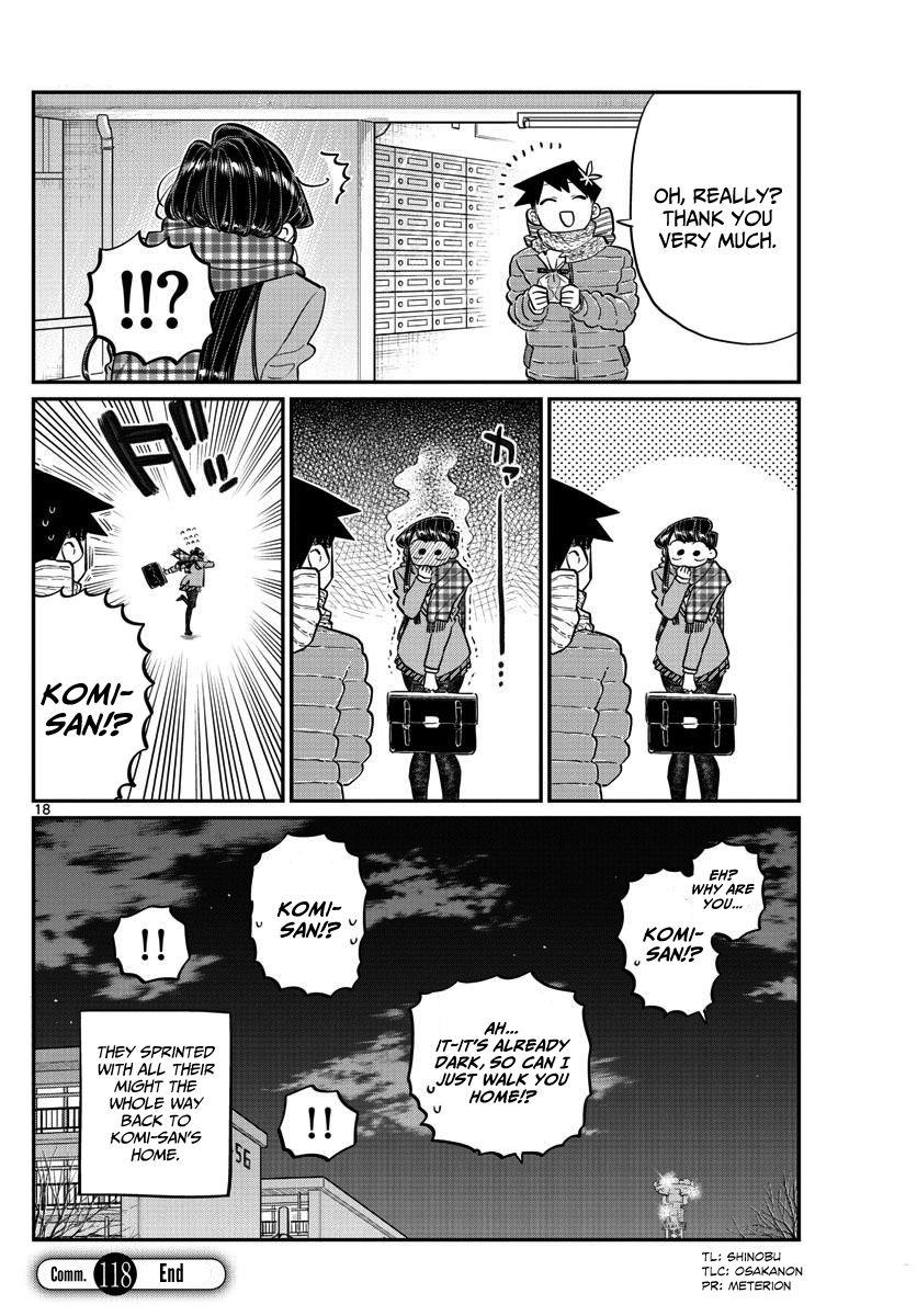 Komi-San Wa Komyushou Desu Vol.9 Chapter 118: Valentine's Day (2) page 18 - Mangakakalot