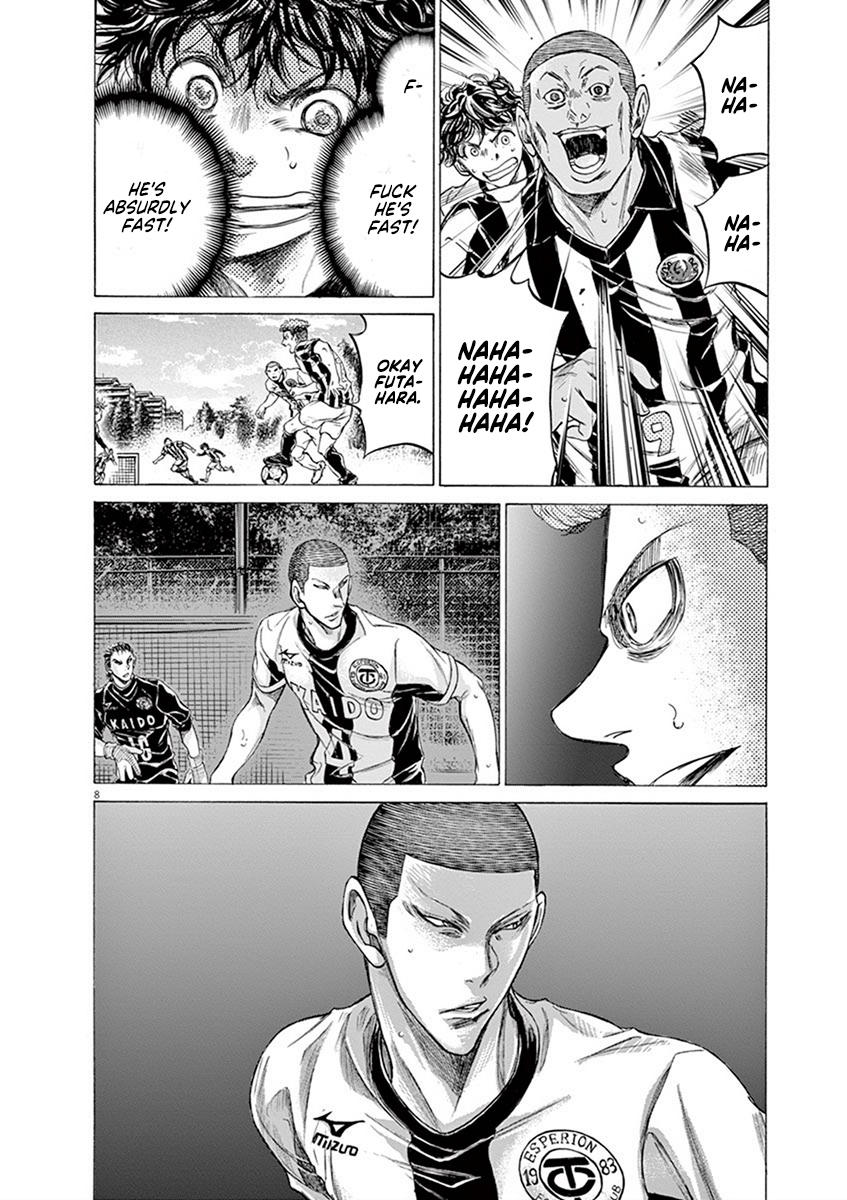 Ao Ashi Vol.18 Chapter 181: Funebashi's Fierce Attack page 9 - Mangakakalots.com