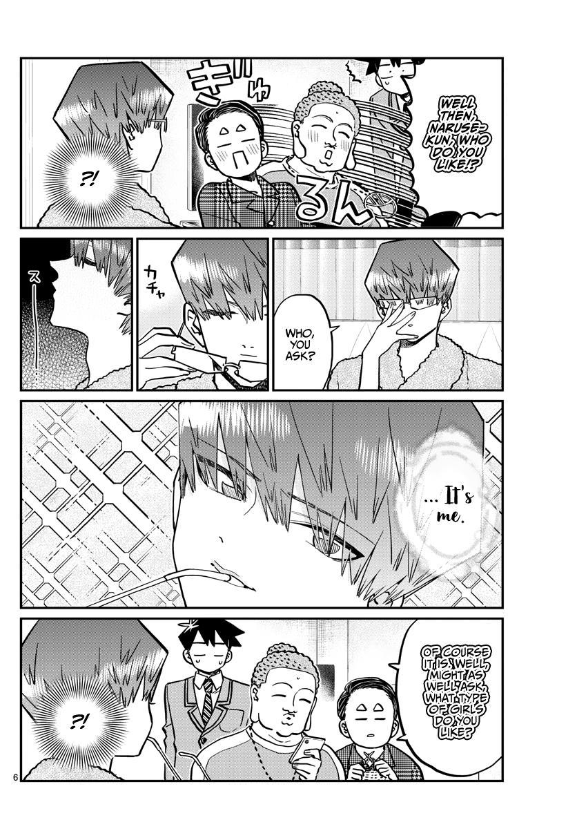 Komi-San Wa Komyushou Desu Chapter 286: Boy's Room page 6 - Mangakakalot