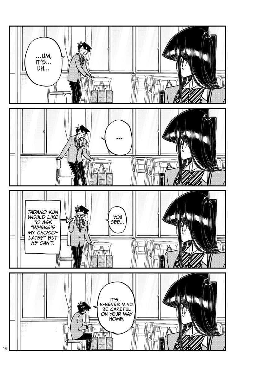 Komi-San Wa Komyushou Desu Chapter 299: Valentine's Day, Second Year Edition page 16 - Mangakakalot