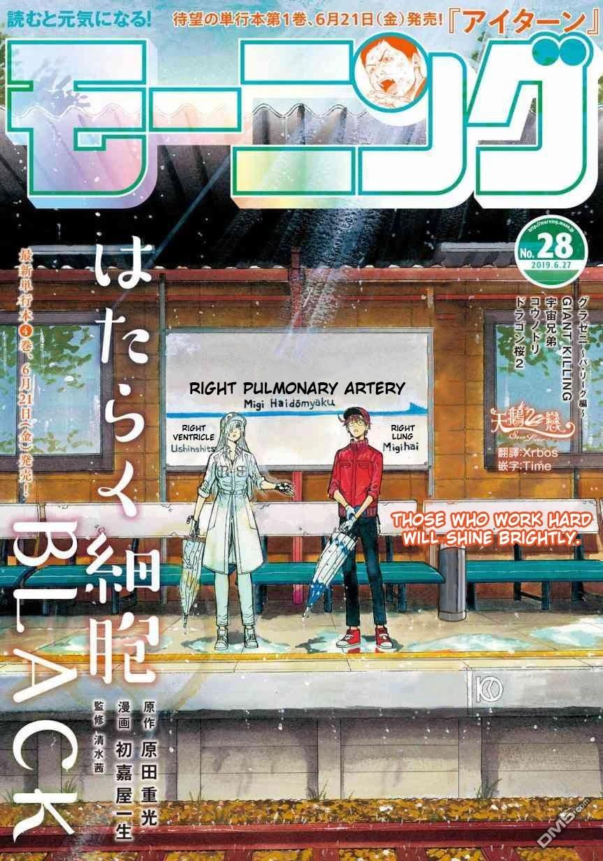 Hataraku Saibou Black Chapter 27: Sleep Apnea, Sentimentality, Reality page 1 - Mangakakalots.com