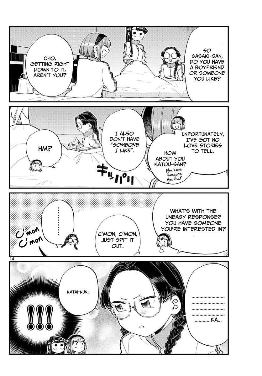 Komi-San Wa Komyushou Desu Vol.8 Chapter 112: Second Night page 2 - Mangakakalot