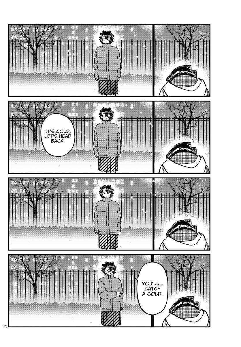 Komi-San Wa Komyushou Desu Chapter 294: I'm Also Sorry page 15 - Mangakakalots.com