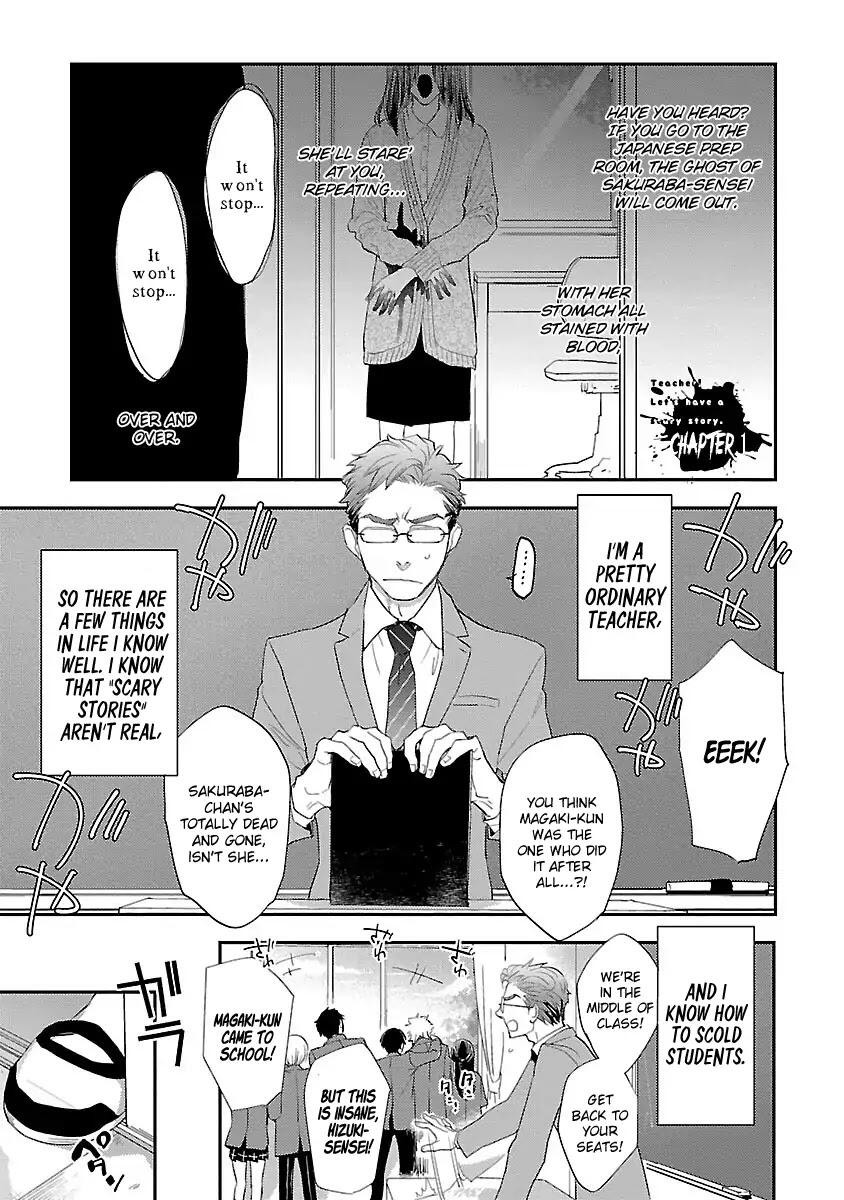 Teacher! Let's Have A Scary Story Chapter 1 page 6 - Mangakakalots.com