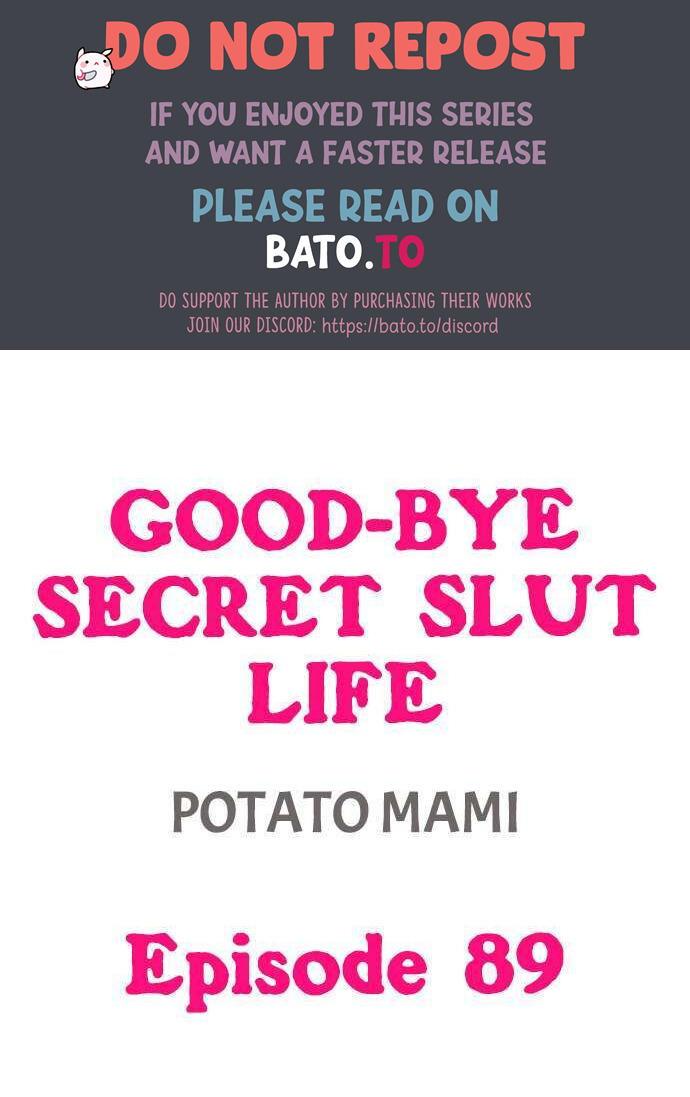 Good-Bye Secret Slut Life Chapter 89 page 1 - Mangakakalots.com