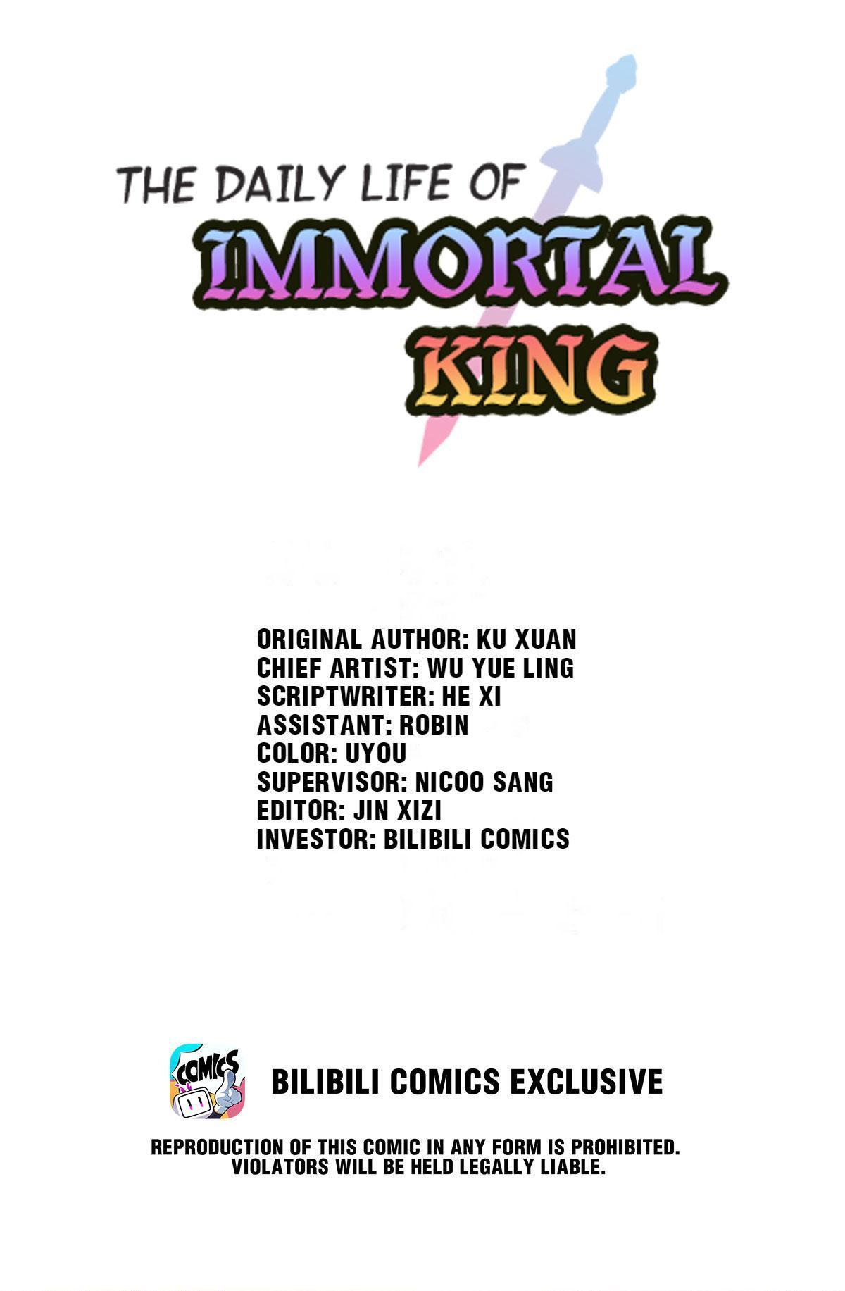 The Daily Life Of Immortal King Chapter 36: What Are You Exactly Up To page 1 - Mangakakalots.com