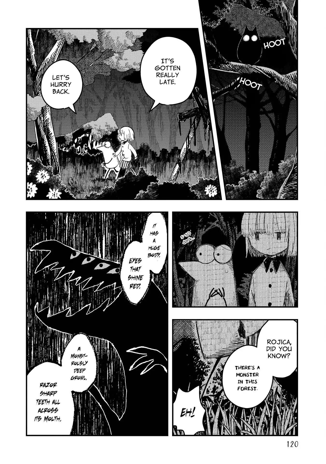 Rojica To Rakkasei Chapter 6: Bakubaku The Monster page 2 - Mangakakalots.com