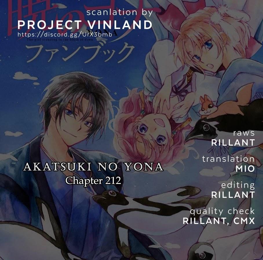 Akatsuki No Yona Chapter 212: Yoon Off To Awa page 1 - Mangakakalots.com