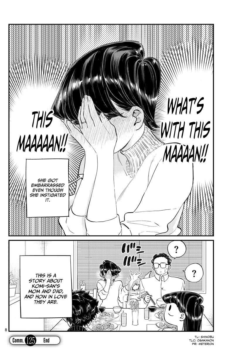 Komi-San Wa Komyushou Desu Vol.9 Chapter 125: Dad (17) And Mom (17) page 8 - Mangakakalot