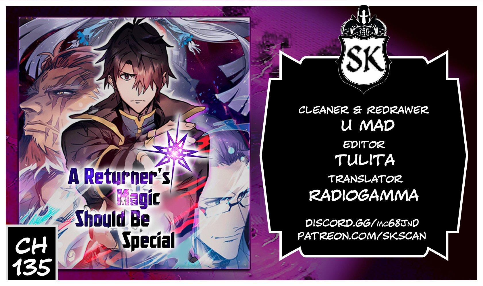 A Returner's Magic Should Be Special Chapter 135 page 1 - Mangakakalots.com