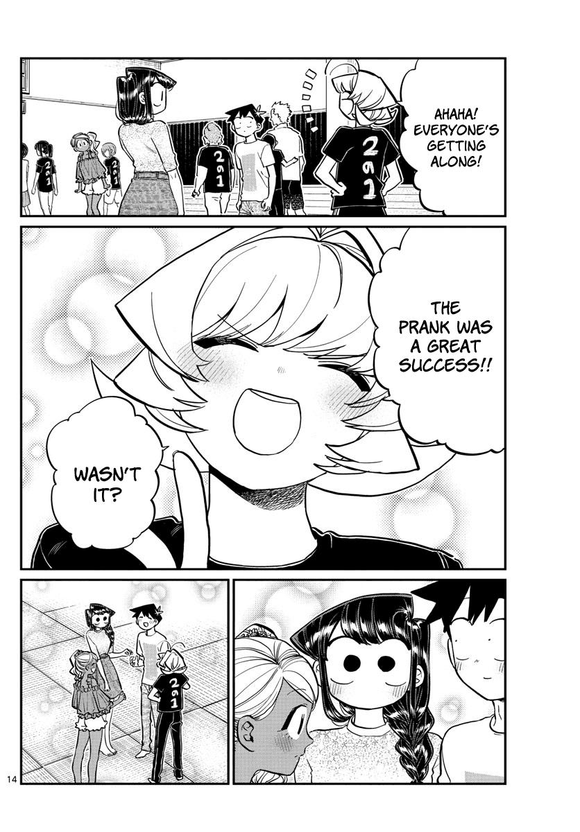 Komi-San Wa Komyushou Desu Chapter 189: Test Of Courage Aftermath page 9 - Mangakakalot