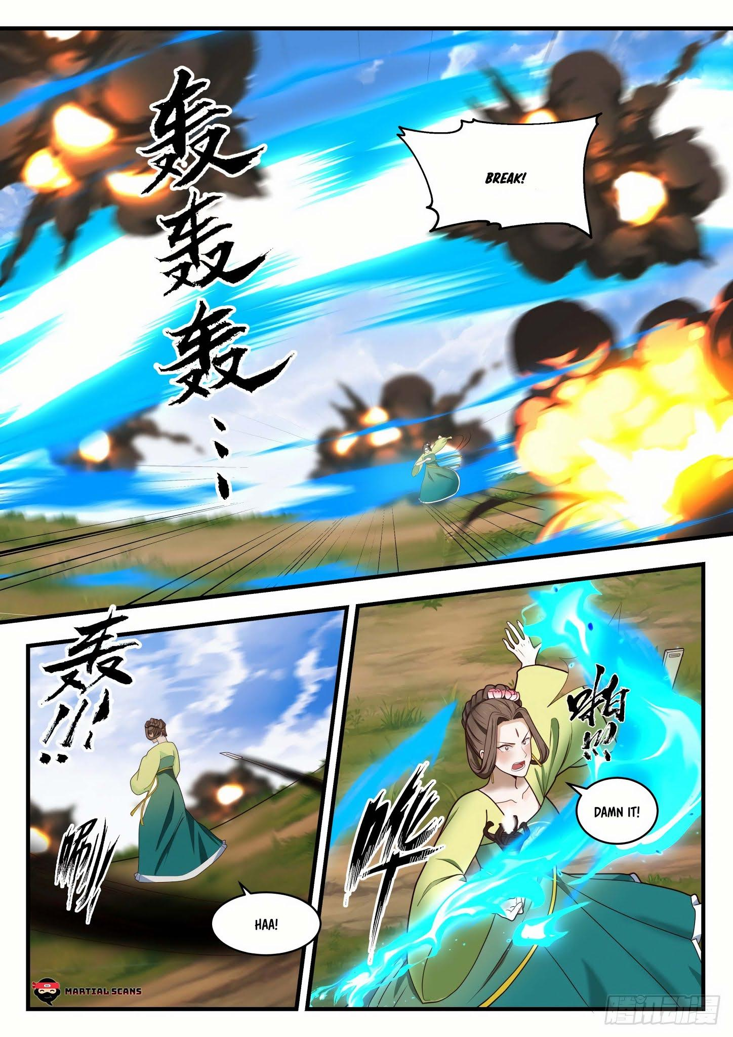 Martial Peak Chapter 1295: Series Of Twists And Turns page 9 - Mangakakalots.com