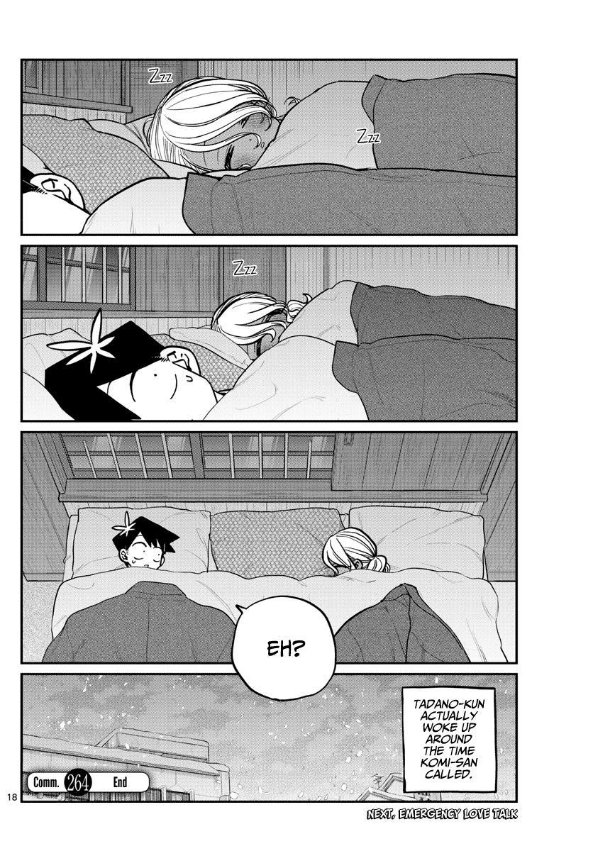 Komi-San Wa Komyushou Desu Chapter 264: Inn 2 page 18 - Mangakakalot