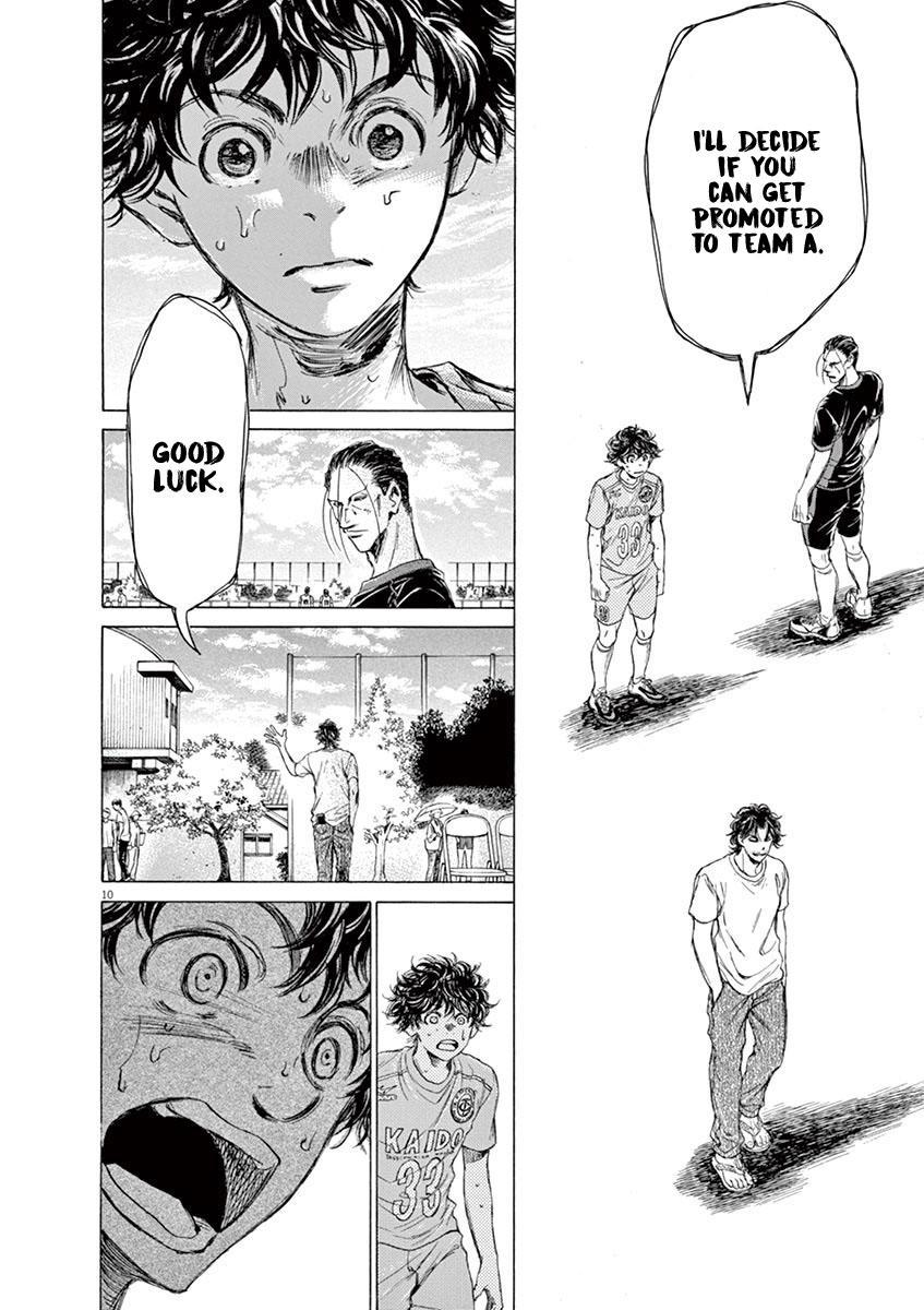 Ao Ashi Vol.8 Chapter 83: Dejected Face page 11 - Mangakakalots.com
