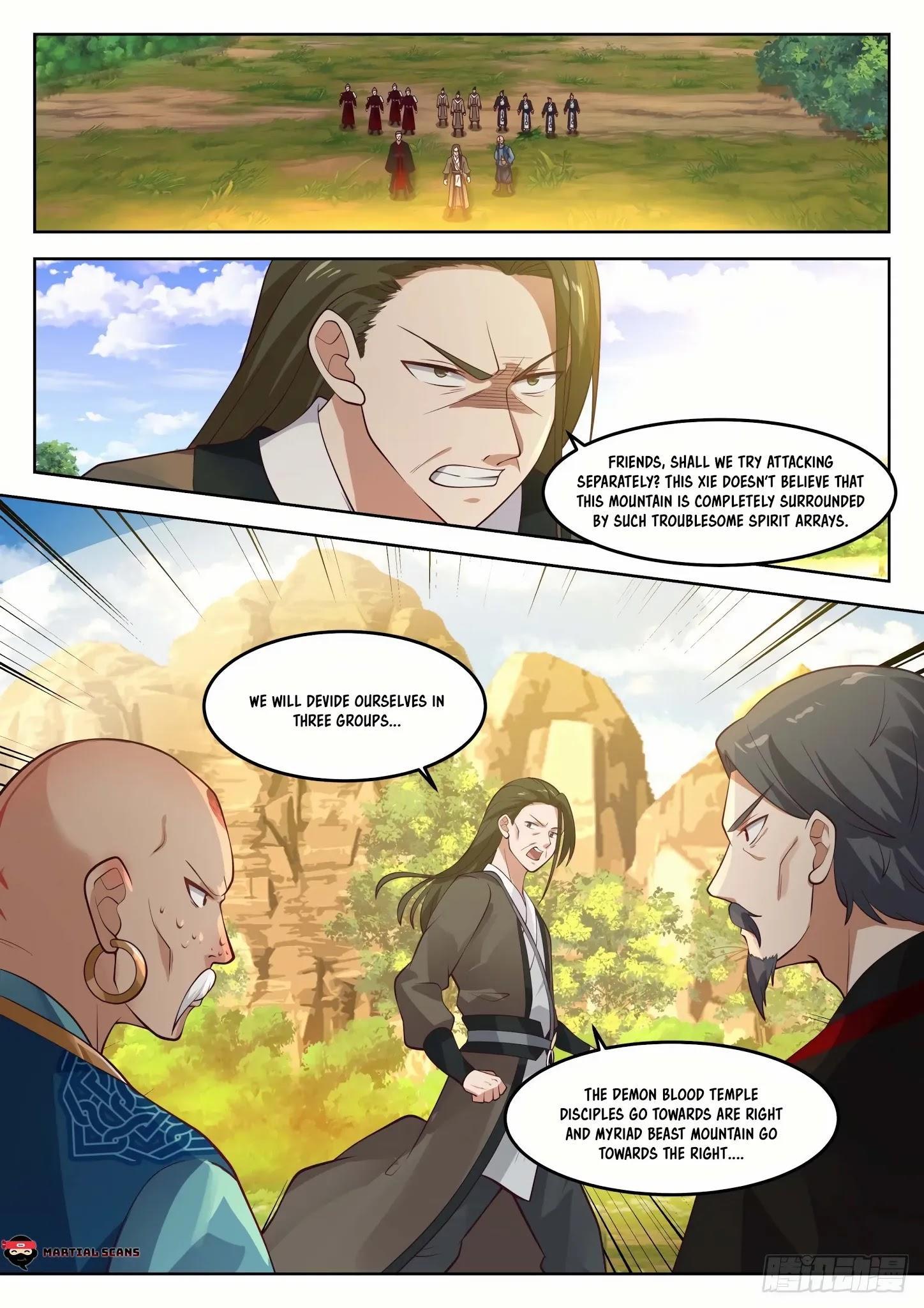 Martial Peak Chapter 1285: Luring Into A Trap page 3 - Mangakakalots.com