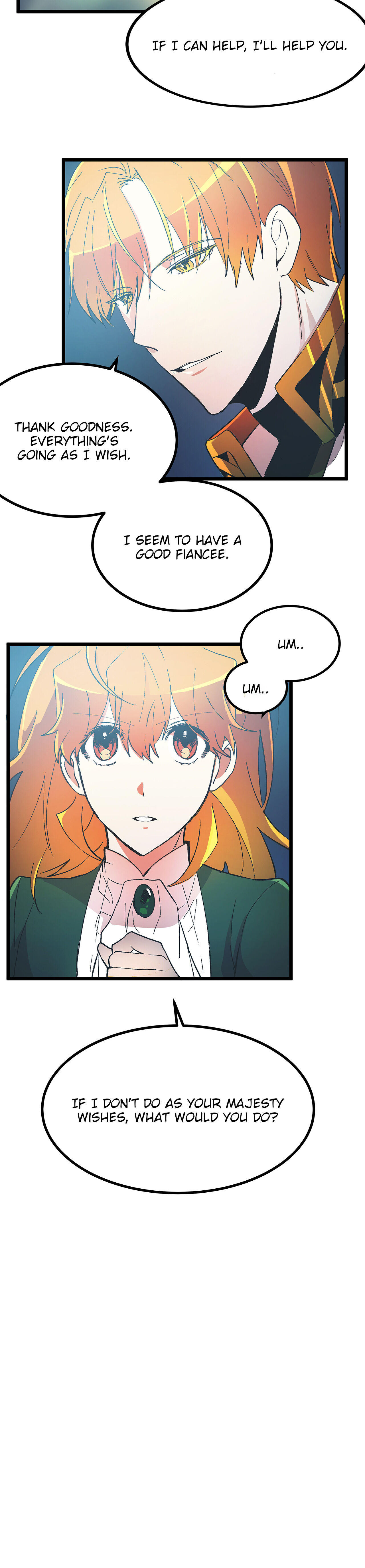 Living As The Emperor's Fiancé Chapter 34 page 39 - Mangakakalots.com