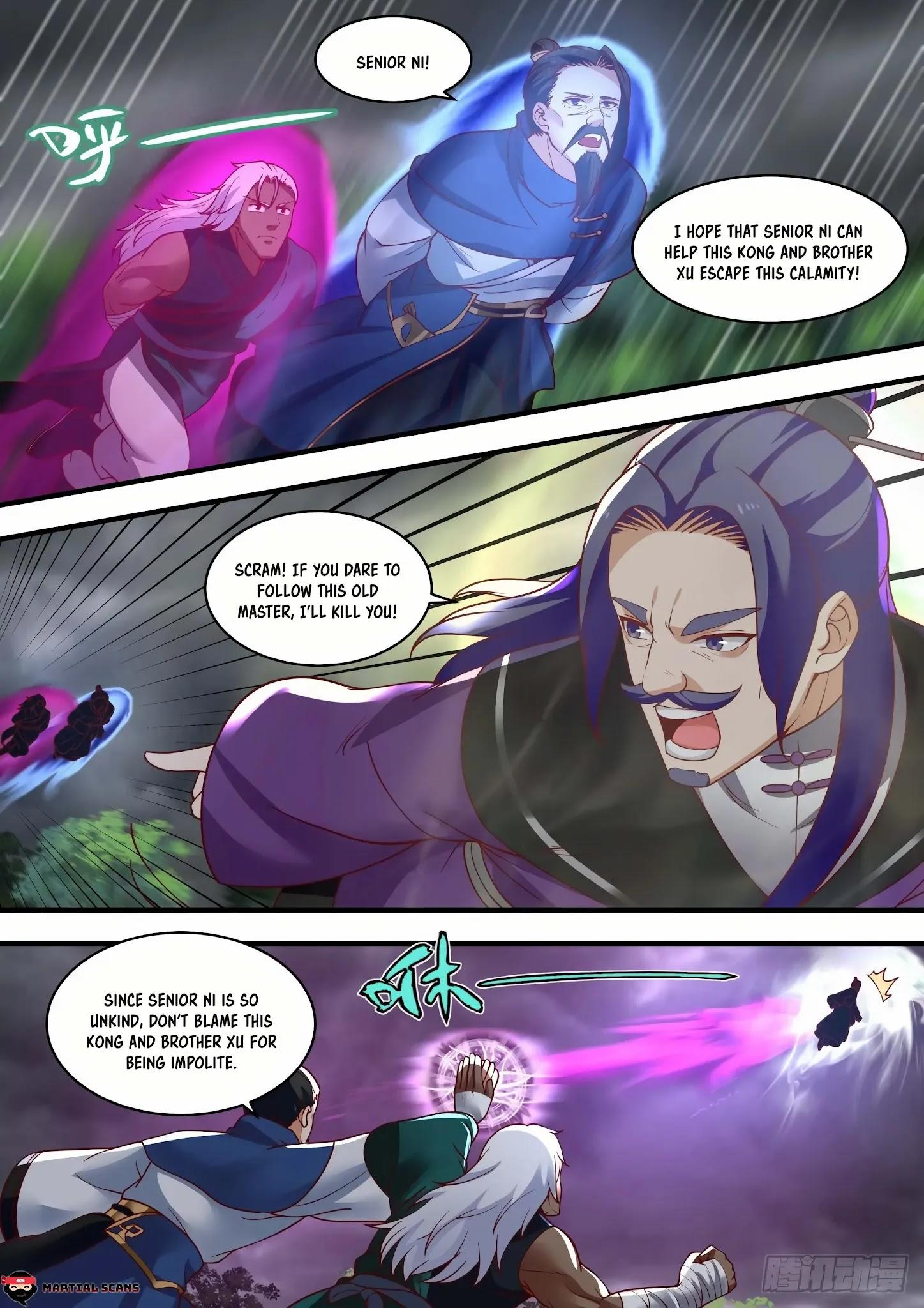 Martial Peak Chapter 1457: Illusionary Void Butterfly page 3 - Mangakakalots.com