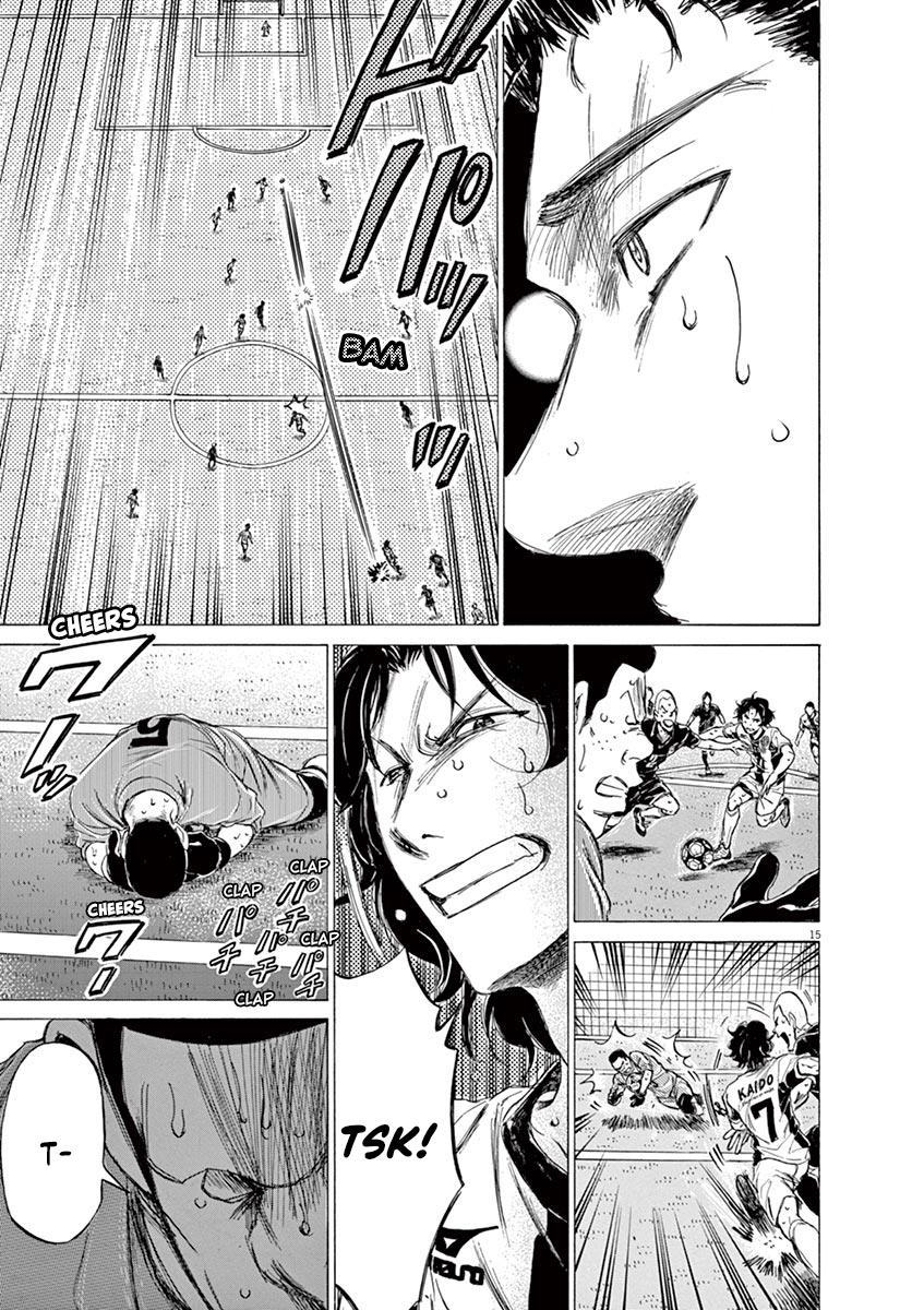 Ao Ashi Vol.13 Chapter 134: Like A Demon, Almost Like A Demon page 16 - Mangakakalots.com