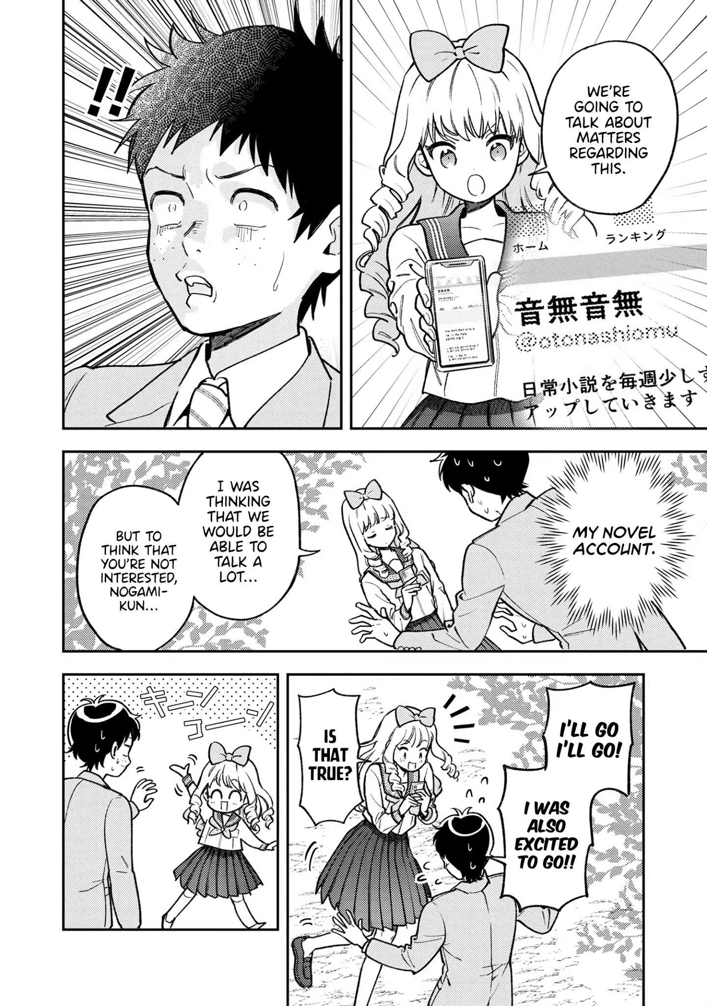 Houjou Urara No Renai Shousetsu O Kaki Nasai! Chapter 6 page 9 - Mangakakalots.com