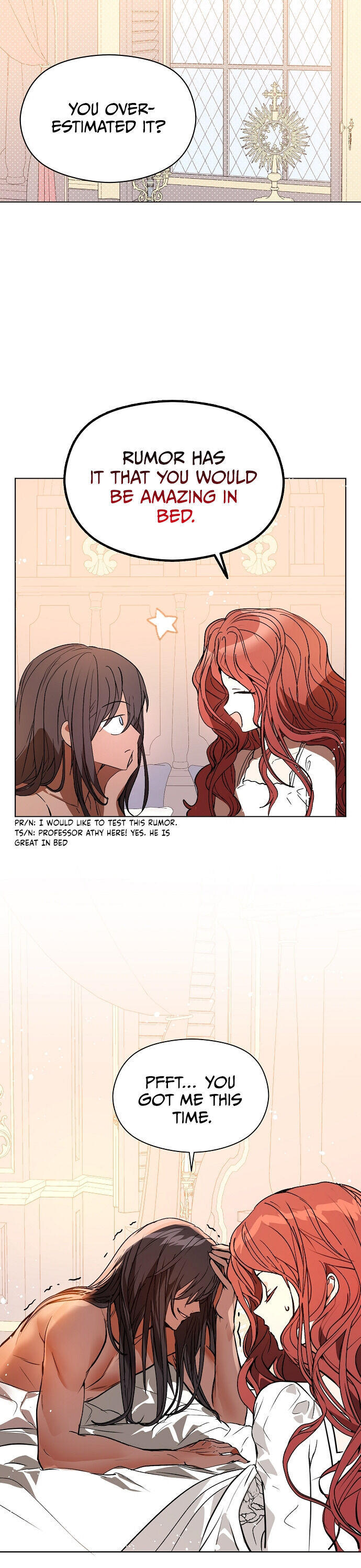 I Didn'T Mean To Seduce The Male Lead Chapter 21 page 3 - Mangakakalots.com