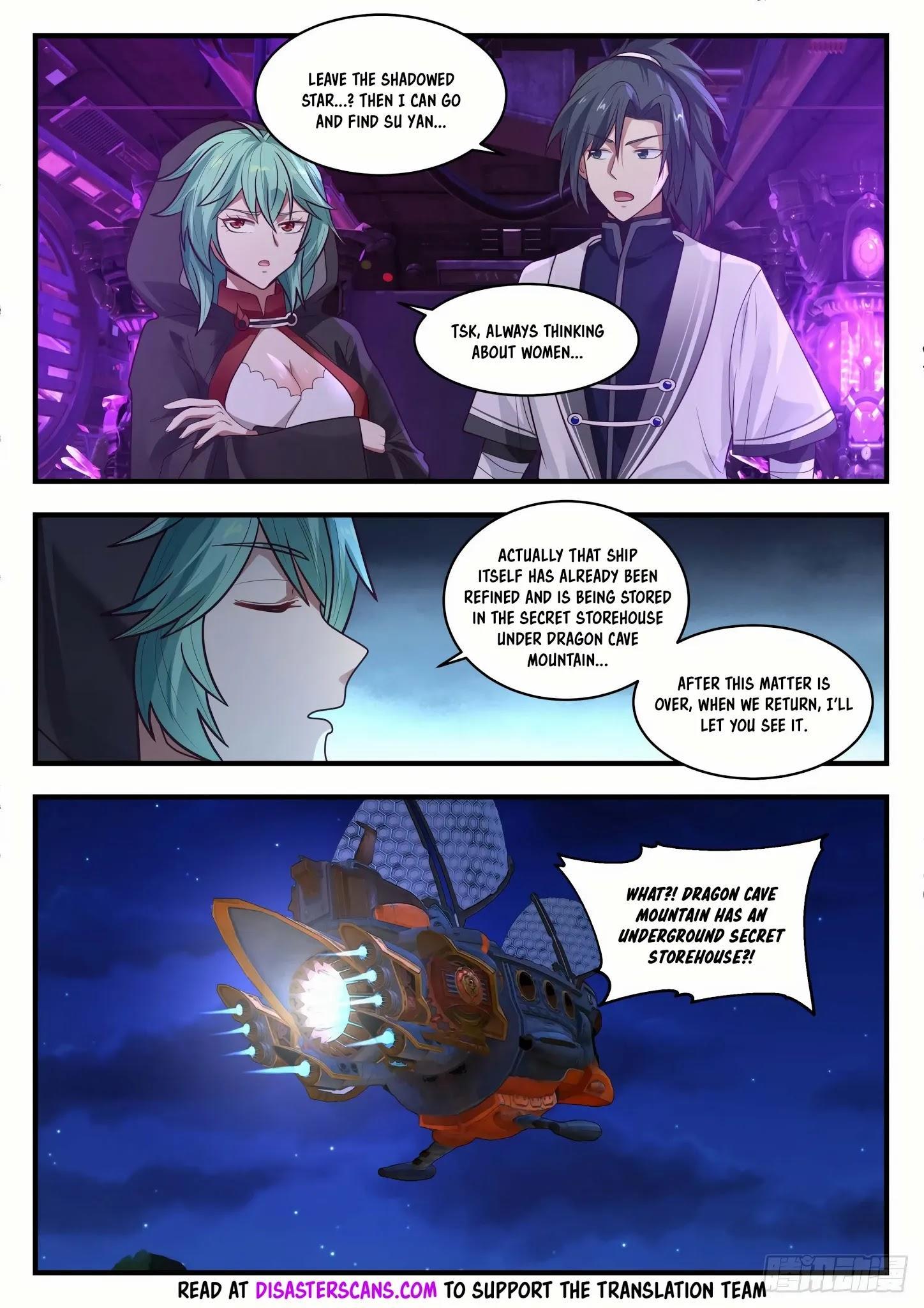 Martial Peak Chapter 1277: Flying Shark Battle Shuttle page 8 - Mangakakalots.com