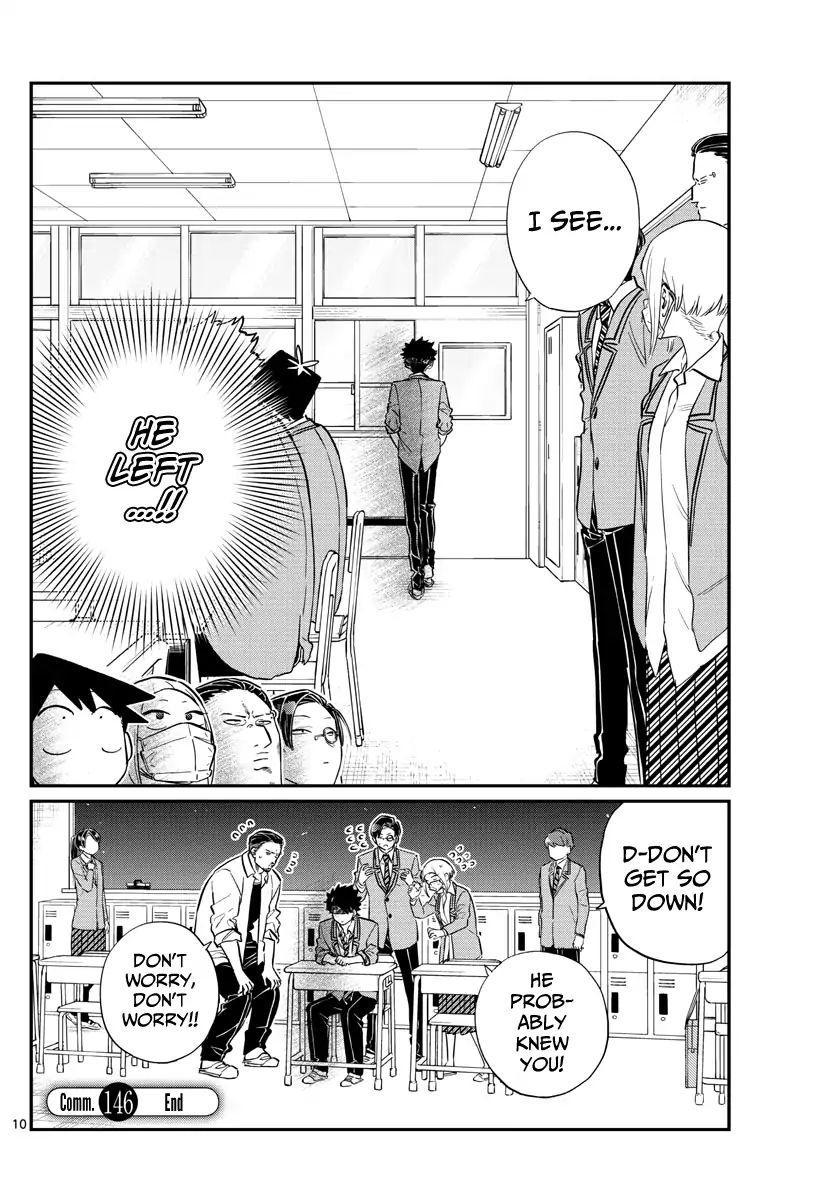 Komi-San Wa Komyushou Desu Vol.11 Chapter 146: Delinquents 2 page 10 - Mangakakalot