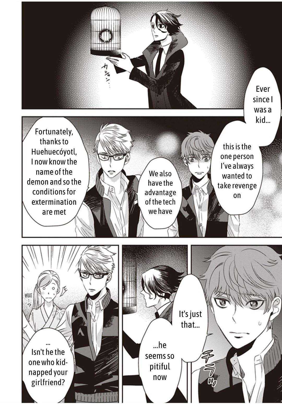 Midnight Occult Civil Servants Chapter 11.2: Demon And Sense Of Loss (Part 4) page 13 - Mangakakalots.com