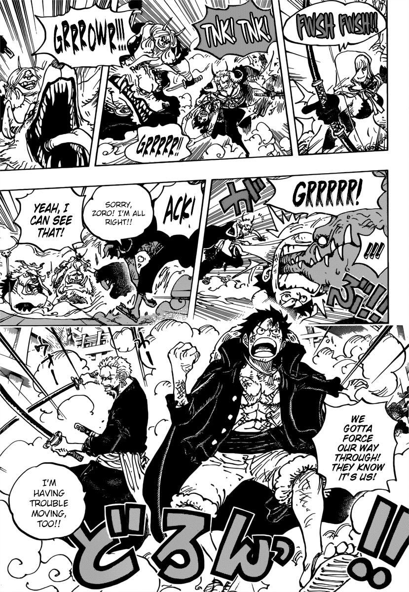 One Piece Chapter 980 page 15 - Mangakakalots.com