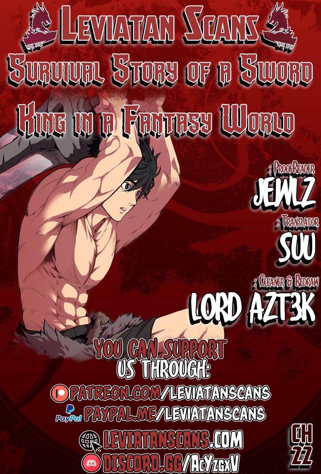 Survival Story Of A Sword King In A Fantasy World Chapter 22 page 1 - Mangakakalots.com