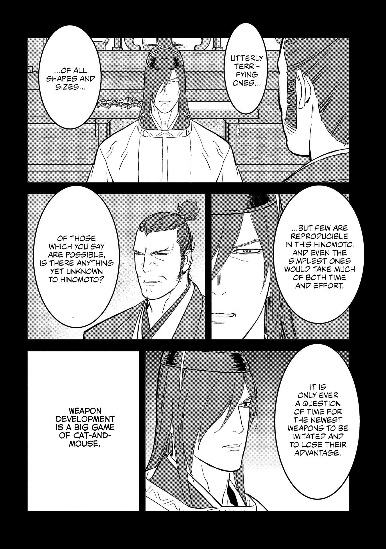 Sengoku Komachi Kurou Tan! Chapter 40 page 3 - Mangakakalots.com