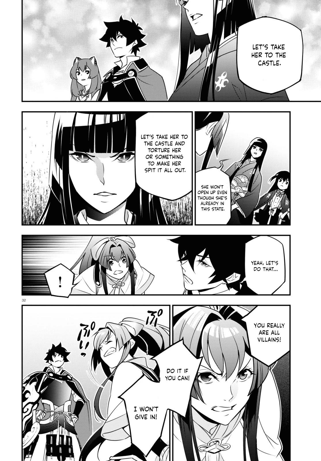 The Rising Of The Shield Hero Chapter 78: An Attacker That Charges Like A Boar page 32 - Mangakakalot