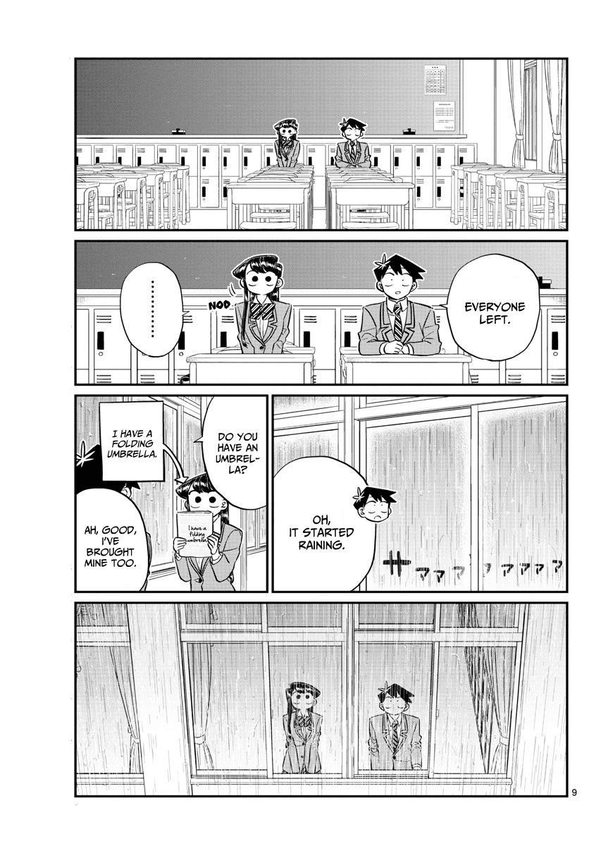 Komi-San Wa Komyushou Desu Vol.10 Chapter 129: One Year page 9 - Mangakakalot