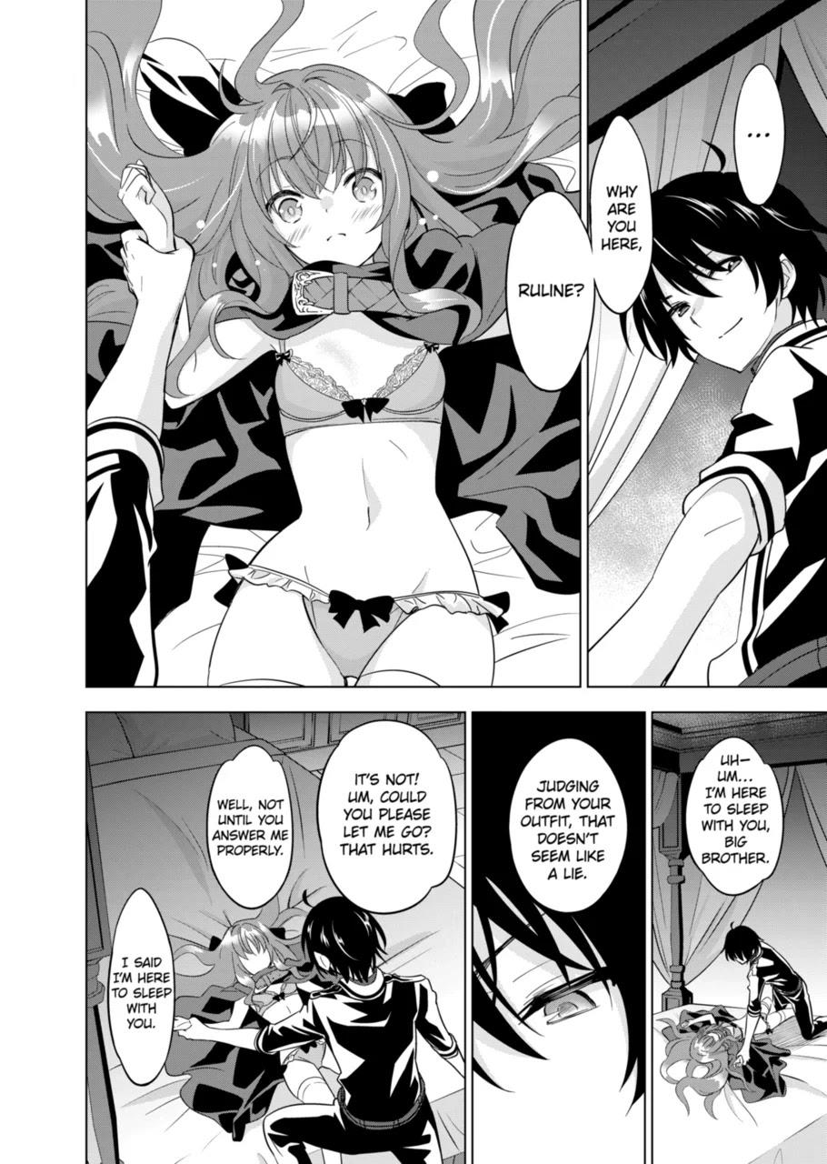Shijou Saikyou Orc-San No Tanoshii Tanetsuke Harem Zukuri Chapter 49: If You Are A Guy Who Doesn't Touch Your Little Sister When She Sneaks Into Your Bed For Sex, You Probably Have Erectile Dysfunction page 6 - Mangakakalots.com