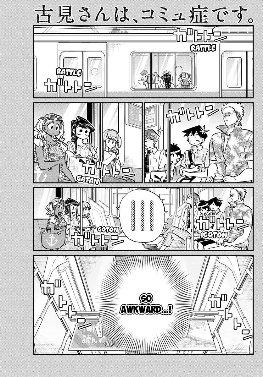 Komi-San Wa Komyushou Desu Vol.12 Chapter 164: The Sea! page 3 - Mangakakalot