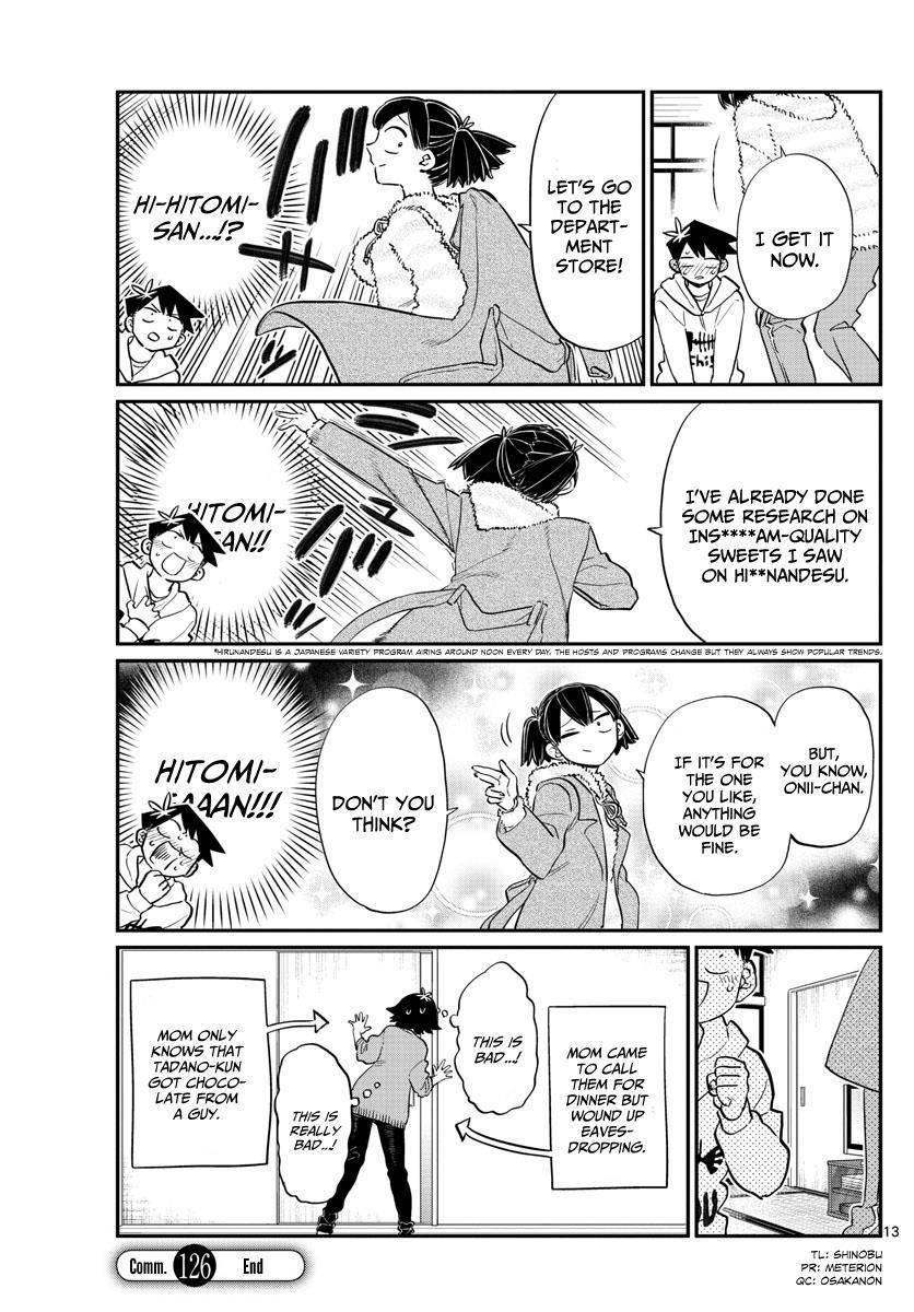Komi-San Wa Komyushou Desu Vol.9 Chapter 126: Friend Chocolate page 13 - Mangakakalot