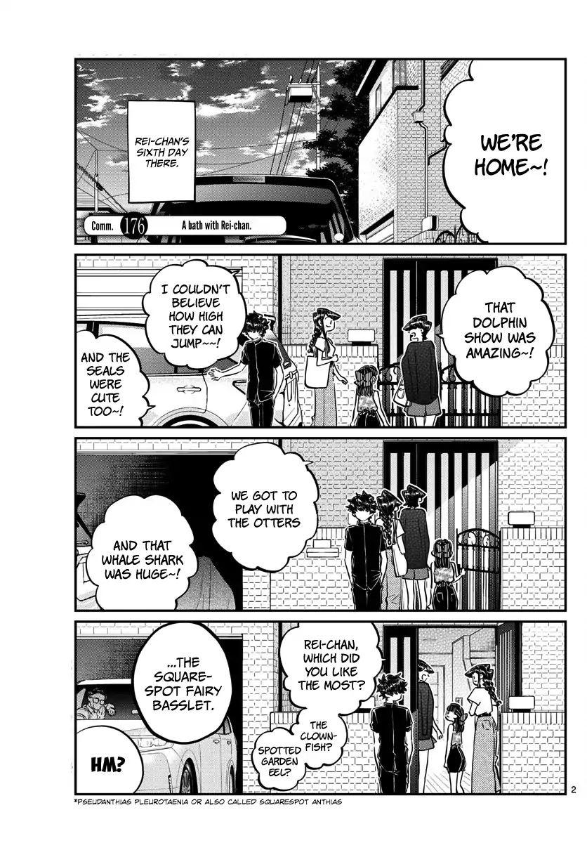 Komi-San Wa Komyushou Desu Vol.13 Chapter 176: A Bath With Rei-Chan page 2 - Mangakakalot