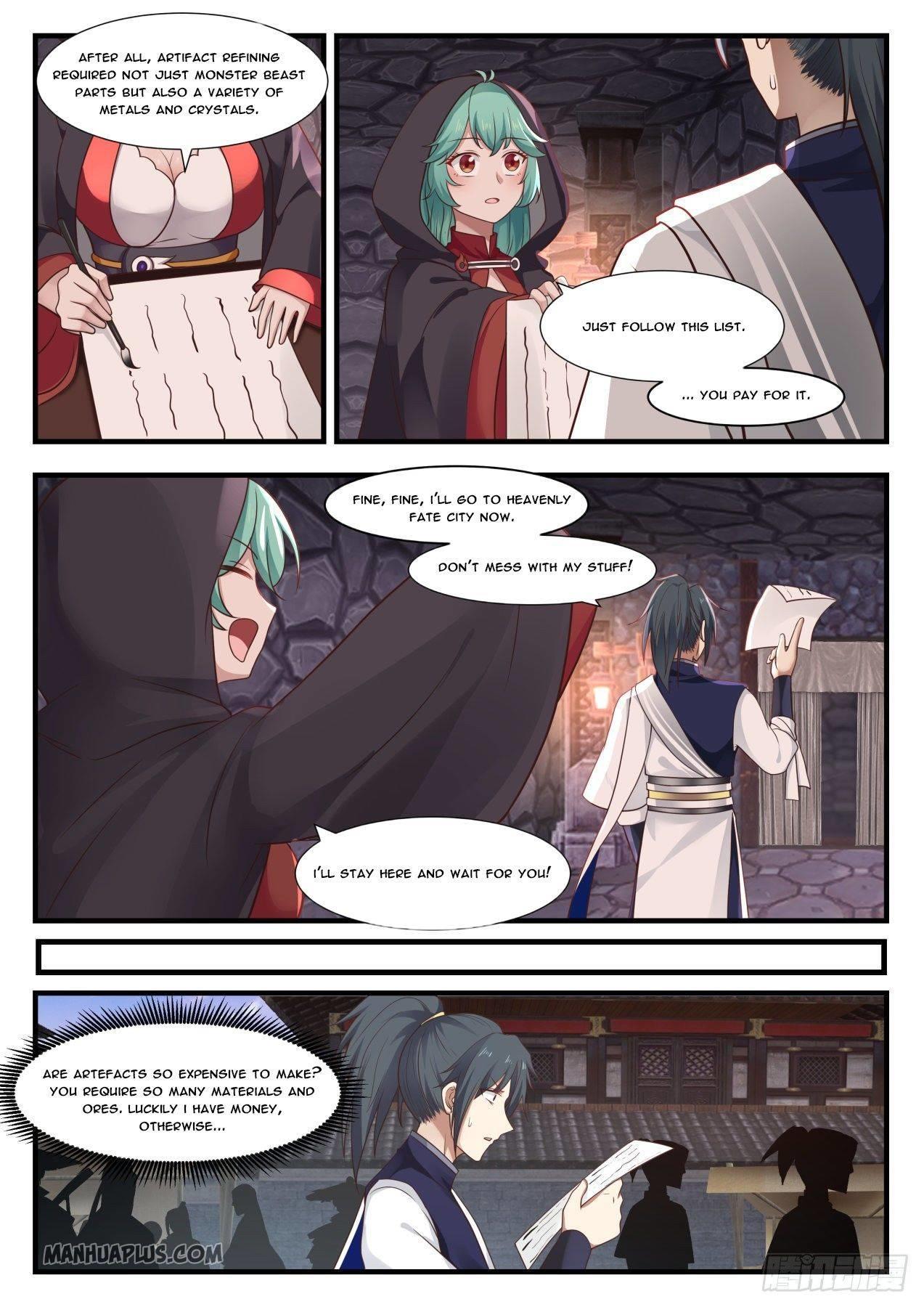 Martial Peak Chapter 995 page 3 - Mangakakalots.com