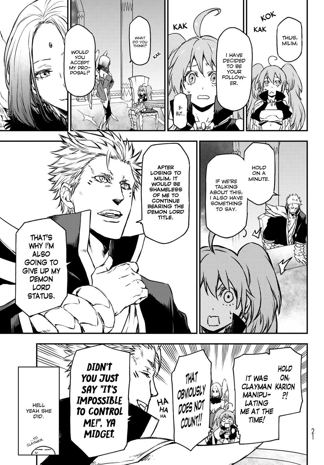 Tensei Shitara Slime Datta Ken Chapter 86: Octagram Demon Lords page 9 - Mangakakalots.com