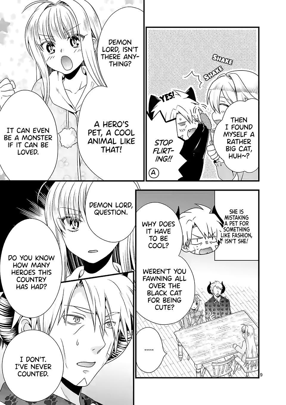 Maou Desu. Onna Yuusha No Hahaoya To Saikon Shita No De, Onna Yuusha Ga Giri No Musume Ni Narimashita. Chapter 34 page 10 - Mangakakalots.com