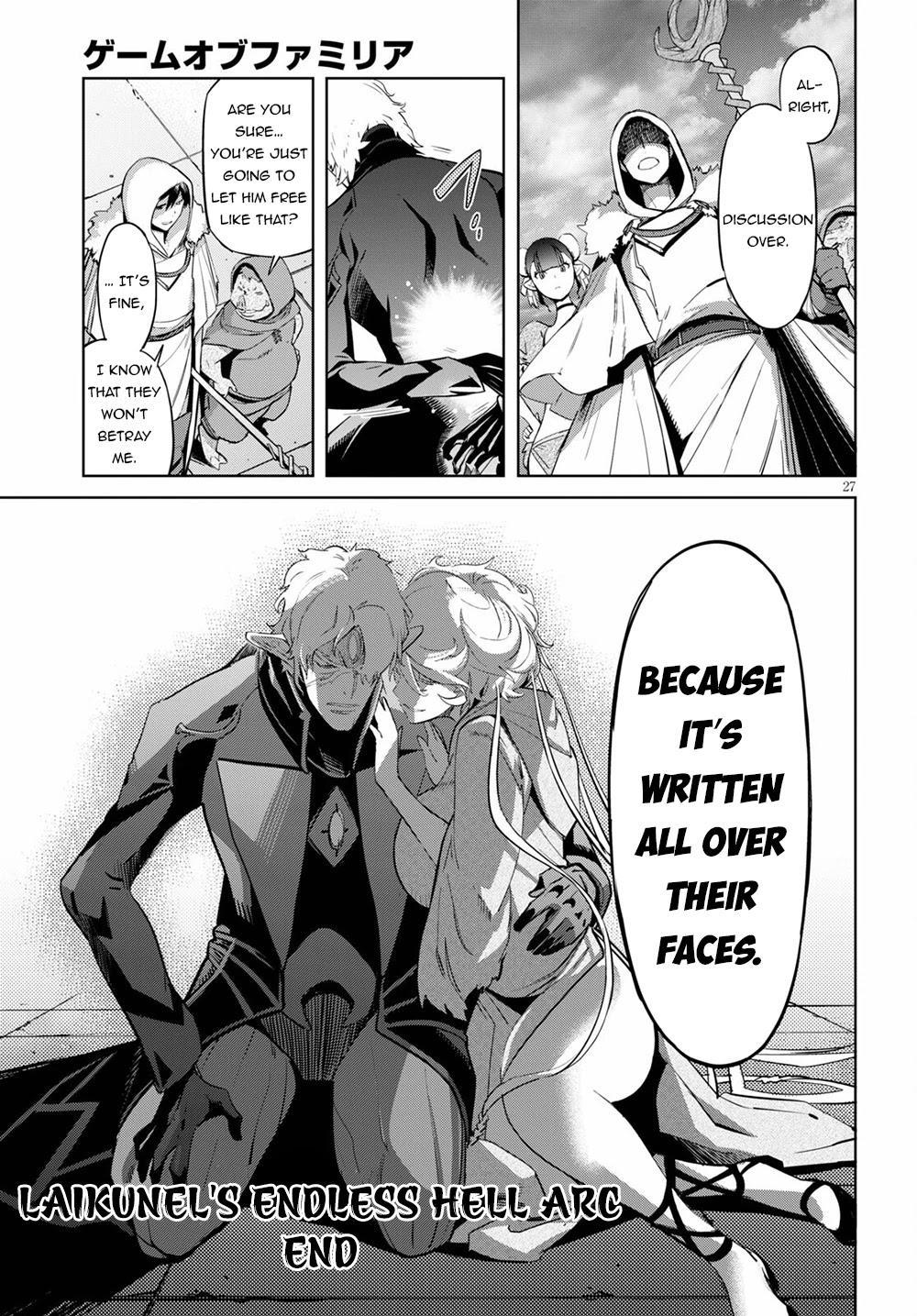 Game Obu Familia - Family Senki Chapter 34 page 28 - Mangakakalots.com