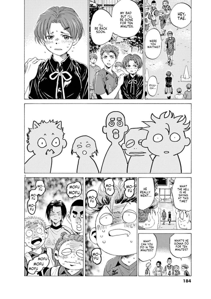 Ao Ashi Vol.9 Chapter 93: I'll Be Gone For Ten Minutes page 8 - Mangakakalots.com