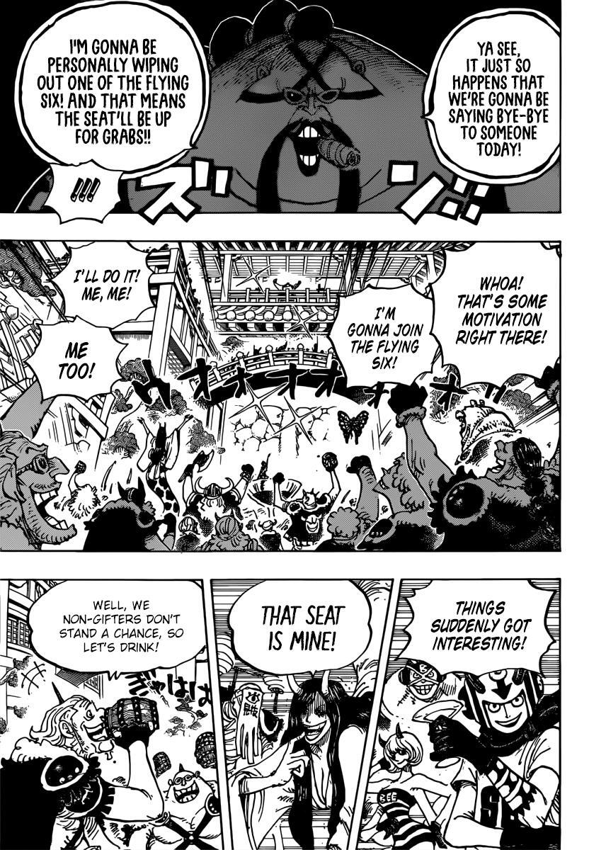 One Piece Chapter 980 page 9 - Mangakakalots.com