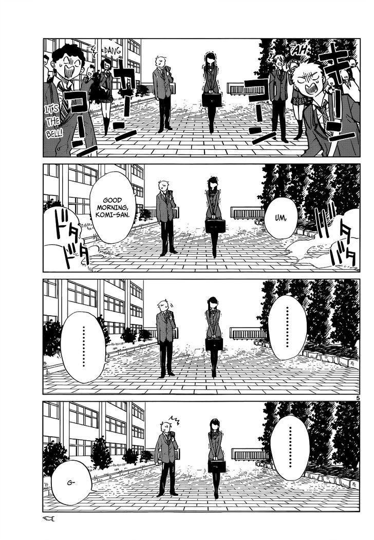 Komi-San Wa Komyushou Desu Vol.1 Chapter 0: One Shot page 7 - Mangakakalot