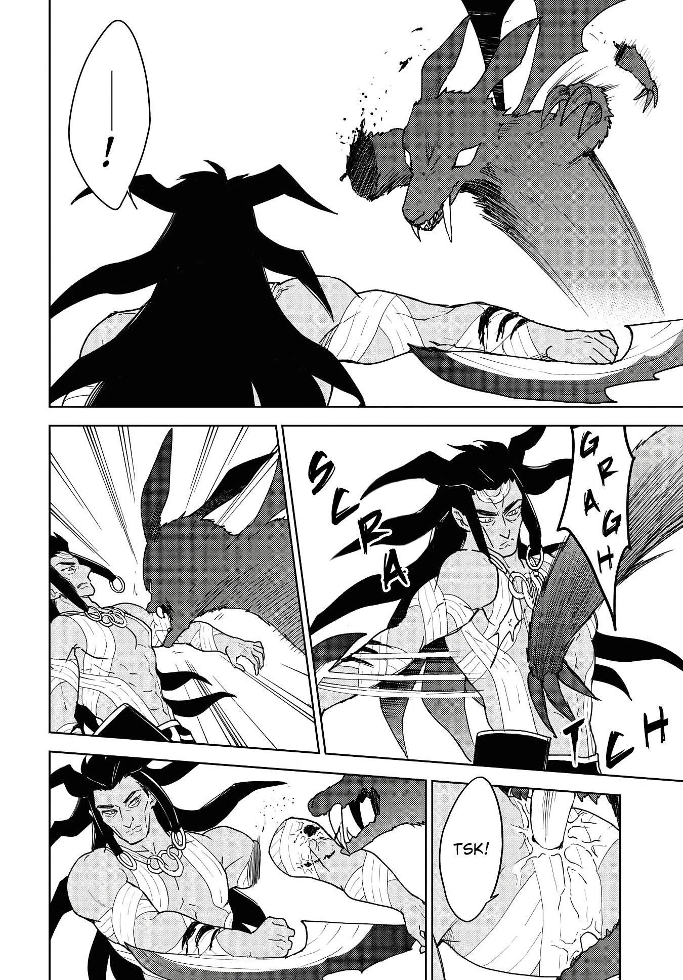 """Cheat Skill """"shisha Sosei"""" Ga Kakusei Shite Inishieno Maougun Wo Fukkatsu Sasete Shimaimashita ~Dare Mo Shinasenai Saikyou Hiiro~ Chapter 12: The East Demon Lord page 21 - Mangakakalots.com"""